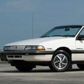 1990 Pontiac Sunbird Convertible