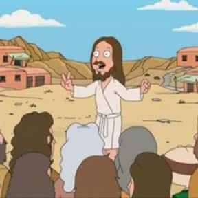 Jesus is listed (or ranked) 15 on the list The Best Family Guy Characters of All Time