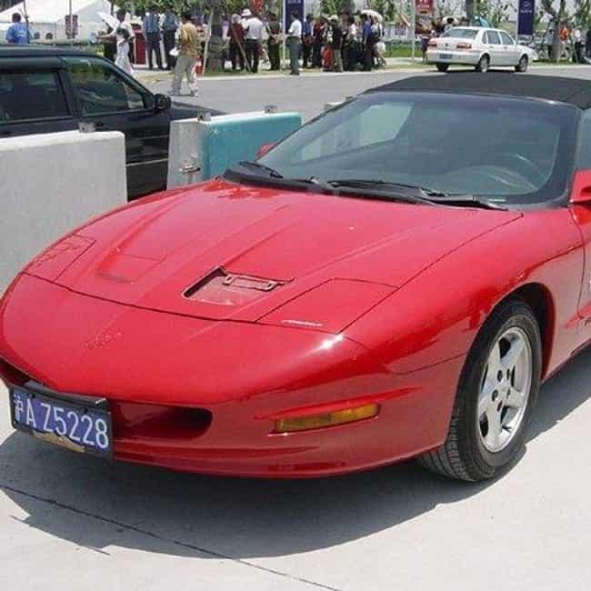 1993 Pontiac Firebird Fo... is listed (or ranked) 3 on the list List of 1993 Pontiacs