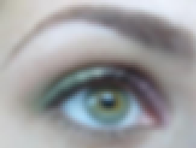 Green is listed (or ranked) 8 on the list The 10 Best Eyeshadow Colors for Hazel Eyes