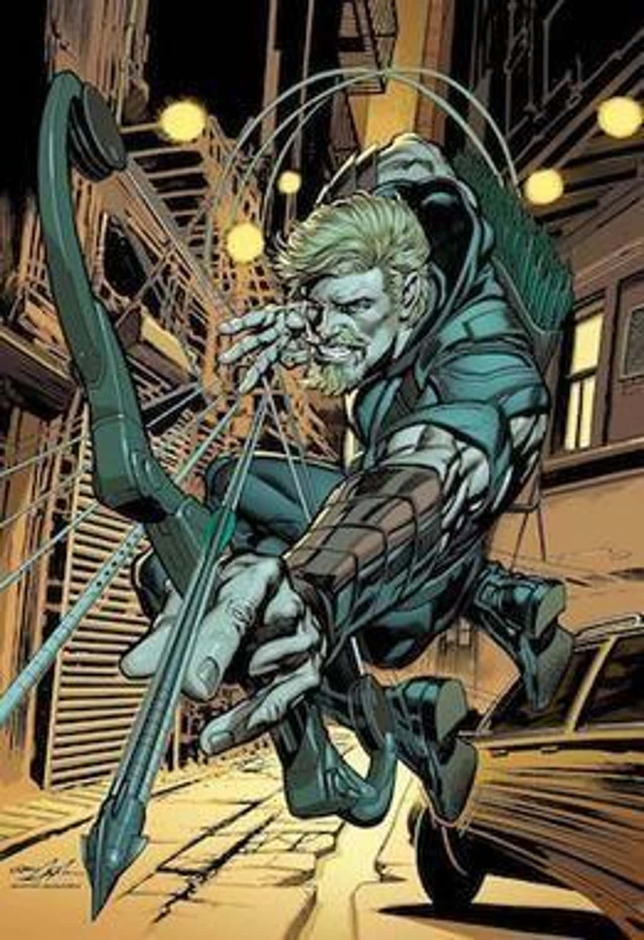 Green Arrow is listed (or ranked) 4 on the list The Best Outsiders Members