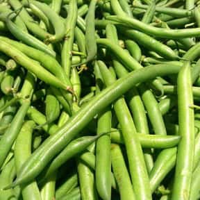 Green bean is listed (or ranked) 6 on the list The Best Garden Vegetables to Eat