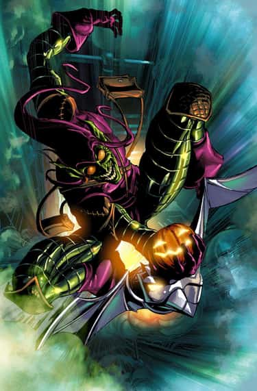 Green Goblin is listed (or ranked) 2 on the list 12 Comic Book Characters With Tragic Backstories Who We Refuse To Feel Sorry For Them