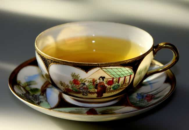 Green tea is listed (or ranked) 2 on the list The Best Ways to Lose Belly Fat