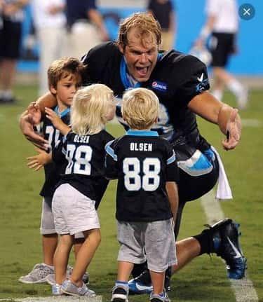 Greg Olsen Gets Surprised by His Kids