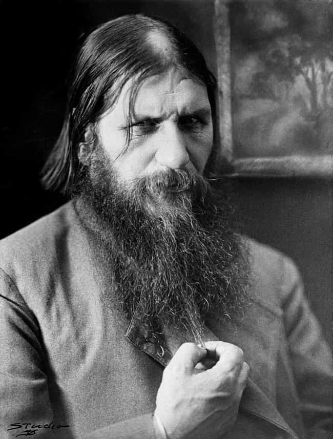 Grigori Rasputin is listed (or ranked) 3 on the list 6 Historical Figures Who Were Really, Truly Obsessed with Sex Workers