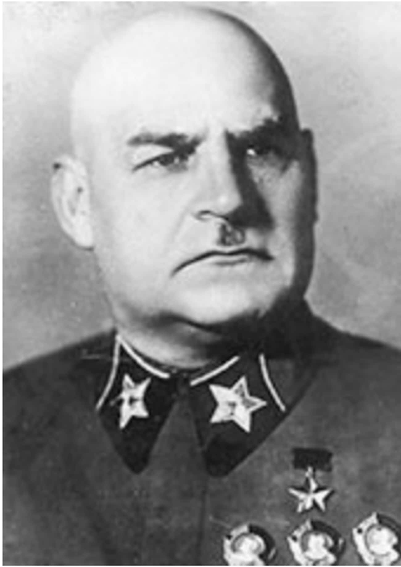 Grigory Kulik is listed (or ranked) 4 on the list The Worst World War II Generals