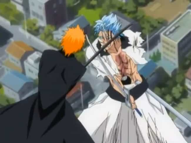 Grimmjow Jaggerjack is listed (or ranked) 1 on the list 15 Times Anime Villains Destroyed The Good Guy In A Fight