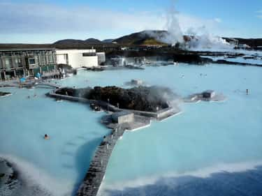 Blue Lagoon Geothermal Resort  is listed (or ranked) 2 on the list The 35 Coolest Pools in the World