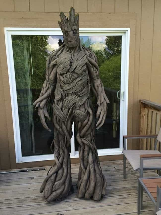 Groot is listed (or ranked) 1 on the list The Best Superheroes To Be For Halloween