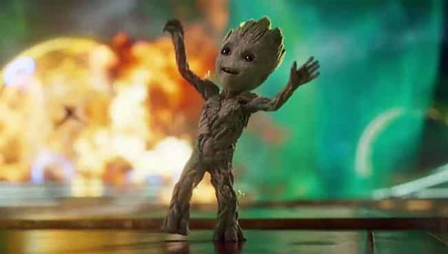 Groot is listed (or ranked) 3 on the list The Luckiest Characters In The Marvel Cinematic Universe, Ranked