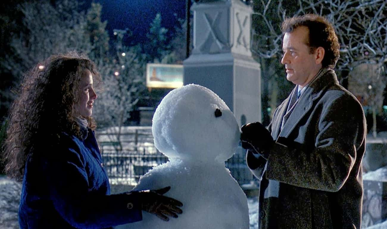 Groundhog Day is listed (or ranked) 3 on the list Great Films That Get Away With Not Explaining Things