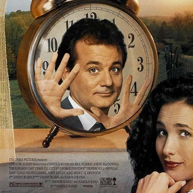 Groundhog Day is listed (or ranked) 4 on the list What to Watch If You Love 'The Daily Show'