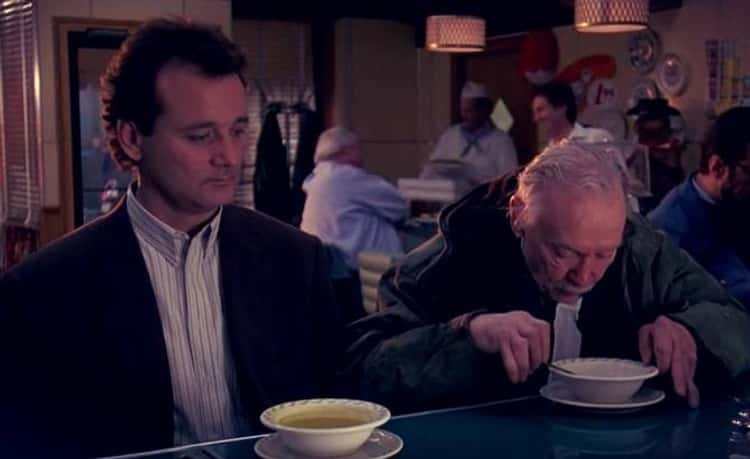 The Homeless Man In 'Groundhog Day'