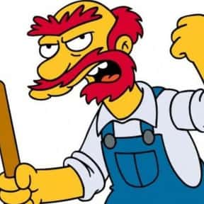 Groundskeeper Willie is listed (or ranked) 18 on the list Easy Costumes If You Already Have A Beard or Mustache