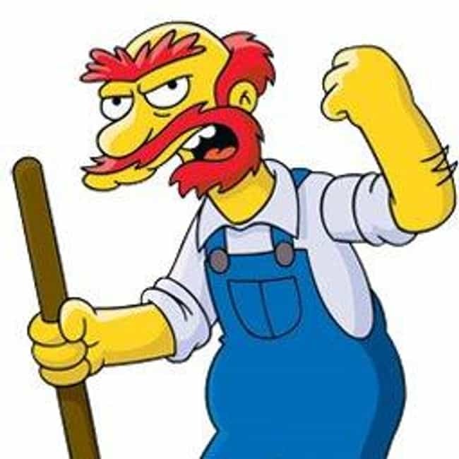 Groundskeeper Willie is listed (or ranked) 2 on the list The Best Fictional Janitors