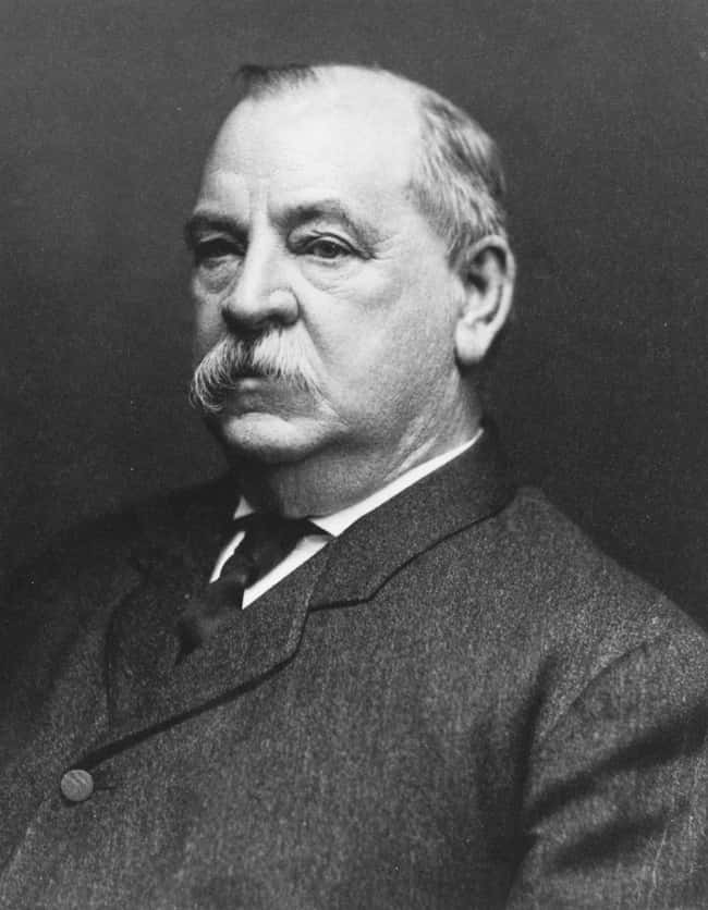 Grover Cleveland is listed (or ranked) 22 on the list Every U.S. President & Every Medical Problem They've Ever Had