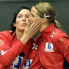 Gro Hammerseng is listed (or ranked) 5 on the list List of Famous Handball Players