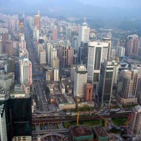 Guangzhou is listed (or ranked) 14 on the list The World's Most Densely Populated Places