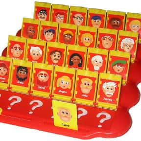 Guess Who? is listed (or ranked) 3 on the list The Best Board Games for Kids 7-12