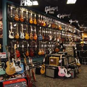 Guitar Center is listed (or ranked) 5 on the list The Best Guitar Stores In America