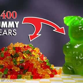 Gummy bear is listed (or ranked) 9 on the list The Best Movie Theater Snacks