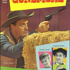 Gunsmoke is listed (or ranked) 15 on the list The Greatest TV Shows of the 1950s