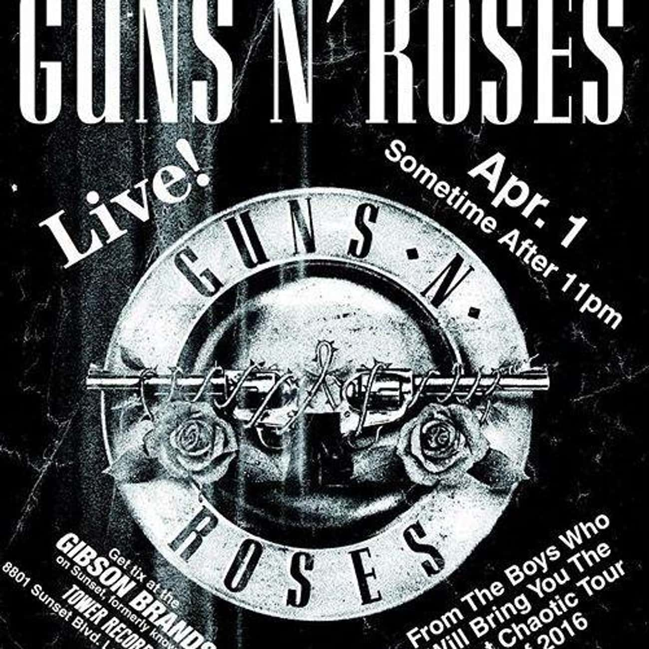 Guns N' Roses is listed (or ranked) 3 on the list Famous Band Reunions: Love 'Em or Hate 'Em?