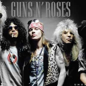 Guns N' Roses is listed (or ranked) 15 on the list The Best Rock Bands of All Time