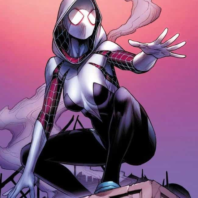 Gwen Stacy is listed (or ranked) 1 on the list Ranking Every Spider-Woman (and Spider-Girl) in the Comics