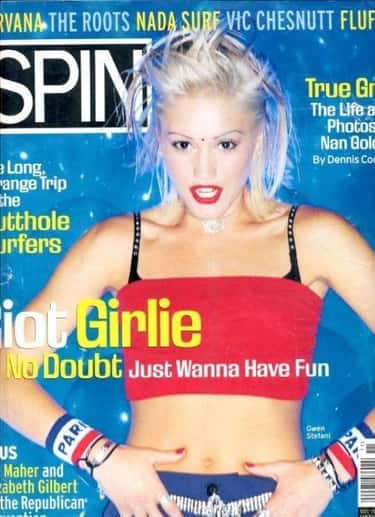 90s Gwen Stefani With... Something