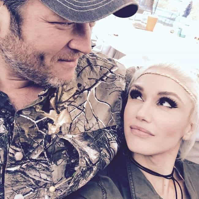 Gwen Stefani is listed (or ranked) 1 on the list Blake Shelton Loves and Hookups