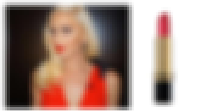 Gwen Stefani is listed (or ranked) 4 on the list Lipsticks Your Favorite Celebrities Are Obsessed With