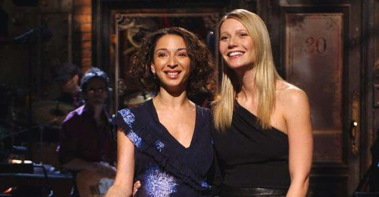 Gwyneth Paltrow & Maya Rudolph is listed (or ranked) 3 on the list Celebrities Who Went to Elementary School Together