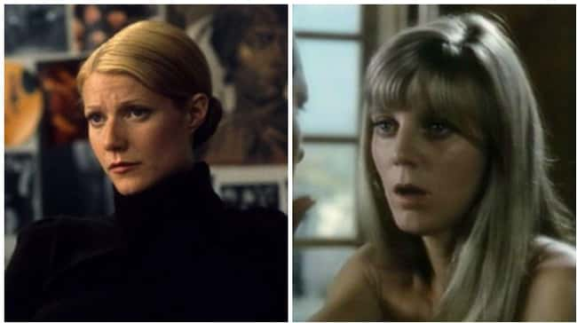 Gwyneth Paltrow is listed (or ranked) 6 on the list 18 Photos Of Celebrities And Their Famous Parents At The Same Age