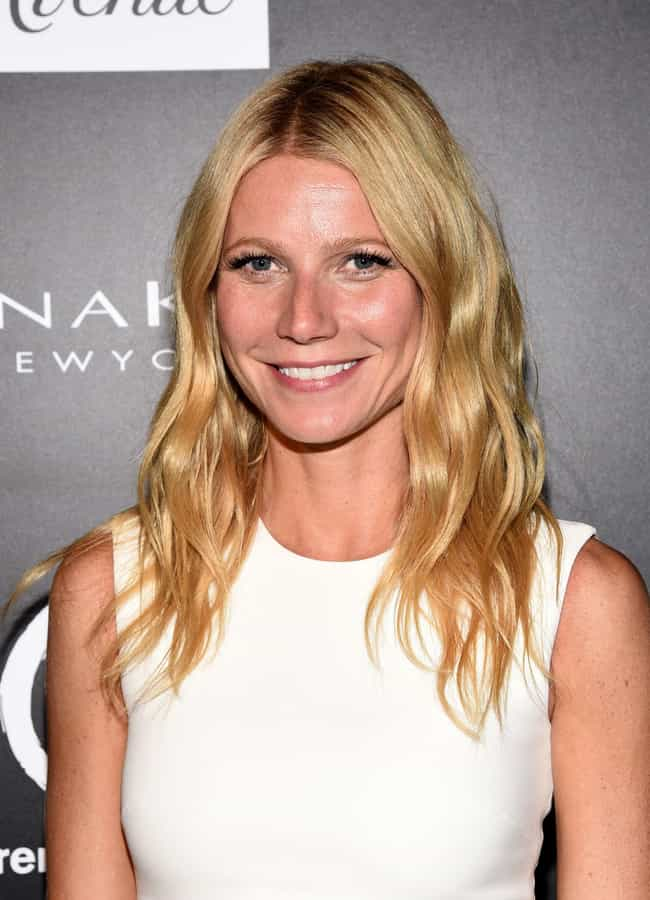 Gwyneth Paltrow is listed (or ranked) 1 on the list Celebrities Who Own Bitcoin