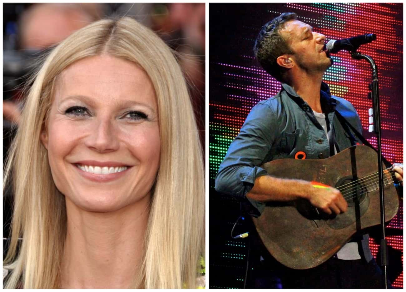 Gwyneth Paltrow And Chris Mart is listed (or ranked) 3 on the list Celebrities Who Broke Up But Still Remained Close With Their Exes