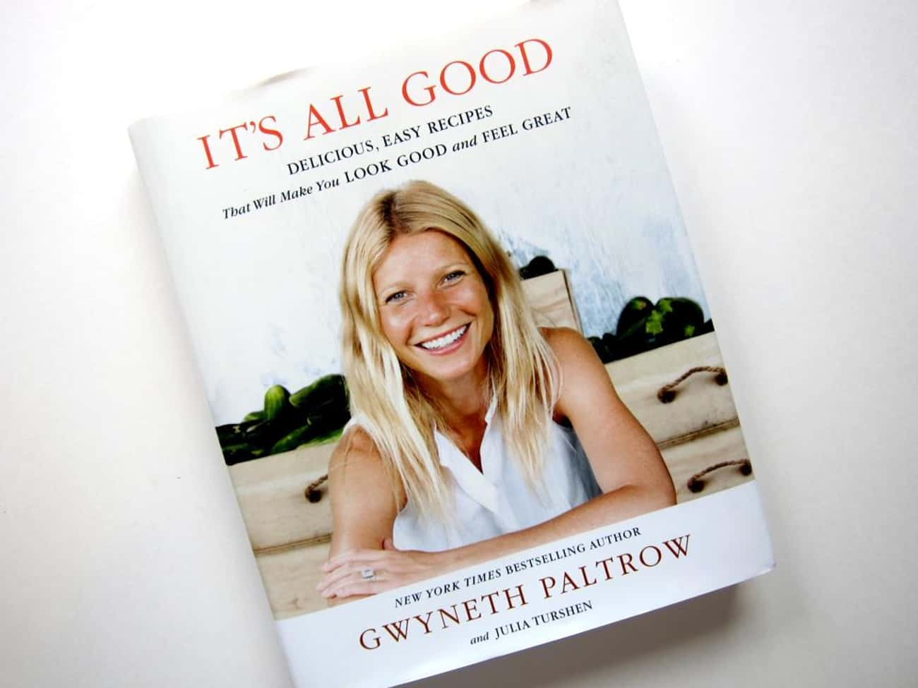 Gwyneth Paltrow is listed (or ranked) 3 on the list 38 Celebrities Who Wrote Cookbooks