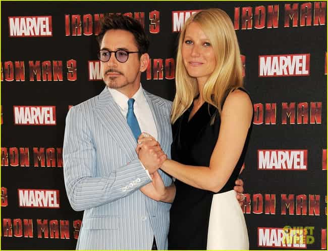 Gwyneth Paltrow is listed (or ranked) 3 on the list Famous Friends of Robert Downey Jr.