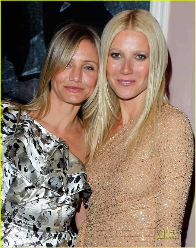 Gwyneth Paltrow is listed (or ranked) 2 on the list Famous Friends of Cameron Diaz