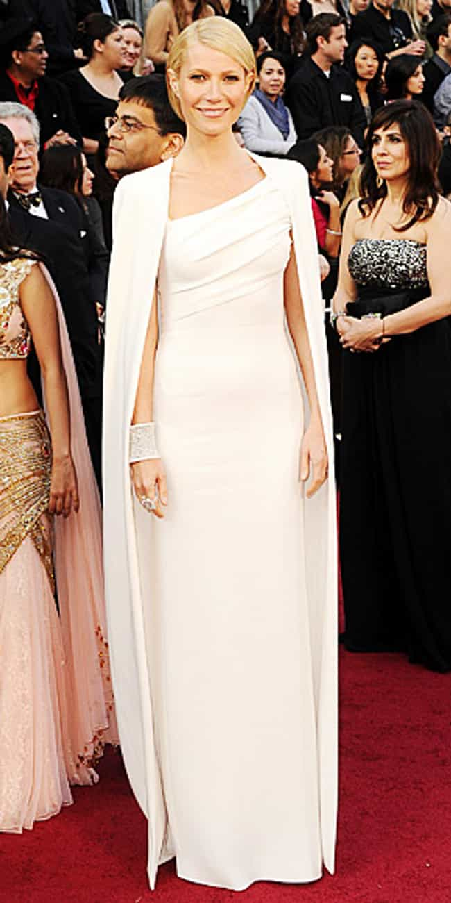Gwyneth Paltrow is listed (or ranked) 2 on the list Celebrities in Tom Ford Dresses