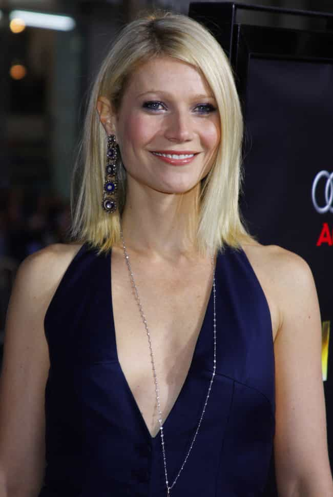 Gwyneth Paltrow is listed (or ranked) 4 on the list 53 Celebrities You Would Never Guess Had Braces