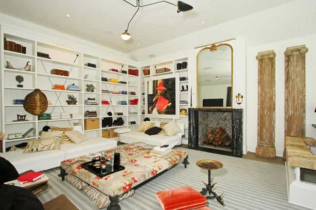 Gwyneth Paltrow is listed (or ranked) 2 on the list Cool Pictures from Inside Celebrity Homes