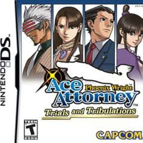 Phoenix Wright: Ace Attorney - is listed (or ranked) 1 on the list The Best Ace Attorney Games