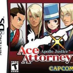 Apollo Justice: Ace Attorney is listed (or ranked) 8 on the list The Best Ace Attorney Games