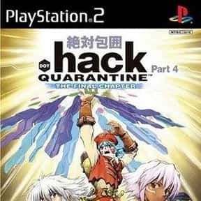 .hack//QUARANTINE is listed (or ranked) 4 on the list List of All Role-playing Games