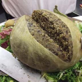 Haggis is listed (or ranked) 5 on the list The Worst Foods to Eat on a Date