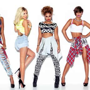 The Saturdays is listed (or ranked) 19 on the list Fascination Records Complete Artist Roster