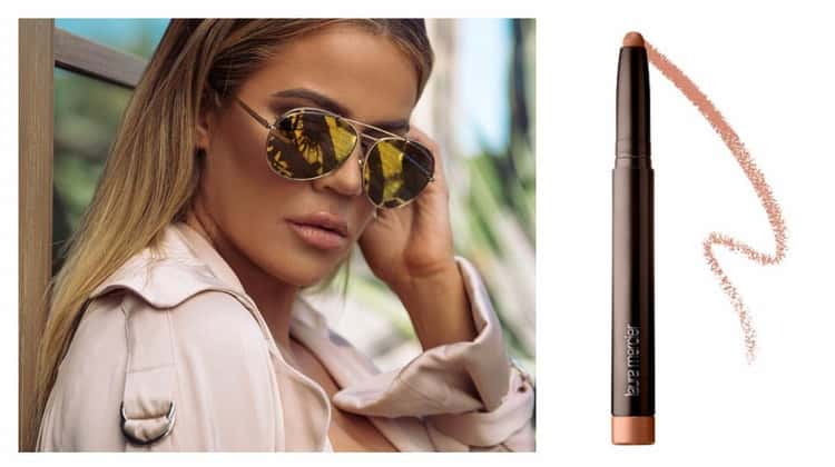 Khloé Kardashian Wears Laura Mercier Velour Extreme Matte Lipstick in Respect