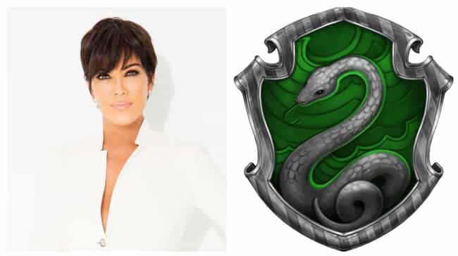 Kris Jenner is listed (or ranked) 3 on the list Which Hogwarts Houses Would Celebrities Be Sorted Into?